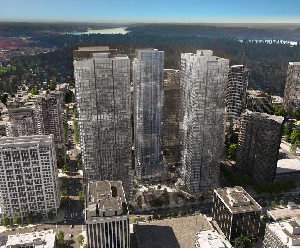 Cloudvue Building Birds Eye View